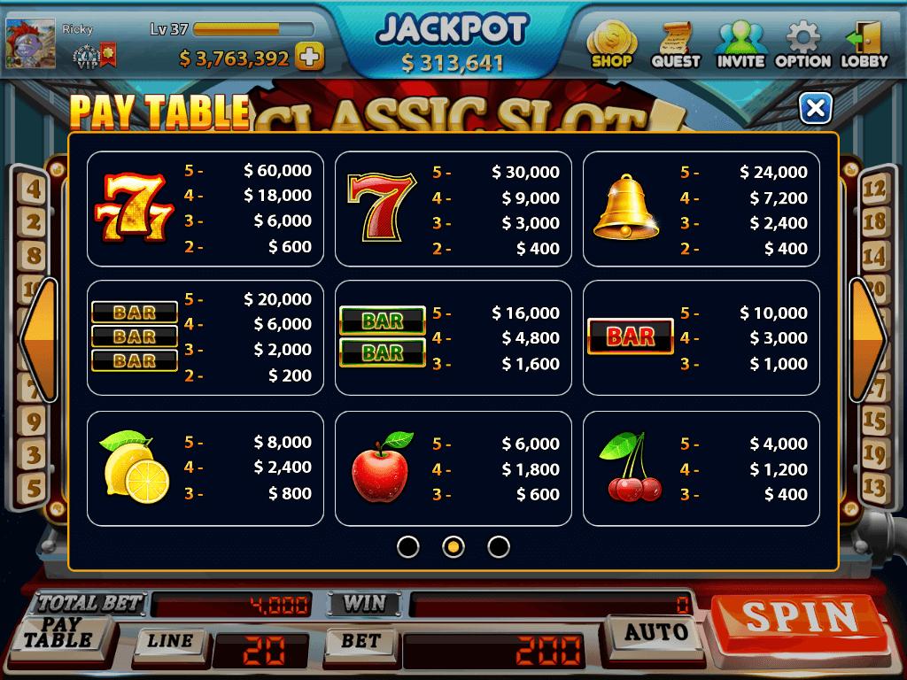 en que juego de casino se gana mas