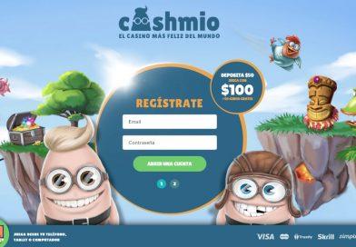 Reseña de Cashmio el casino más feliz del mundo
